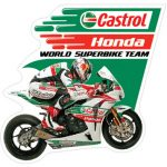 Decal Castrol 9 x 8.67 cm - In Lazer